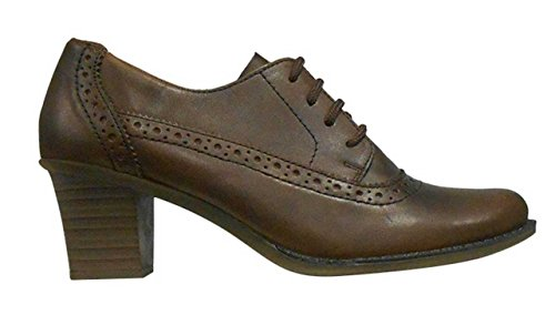 Femme Marron Derbies L7610 Marron Derbies Rieker zxYwAt
