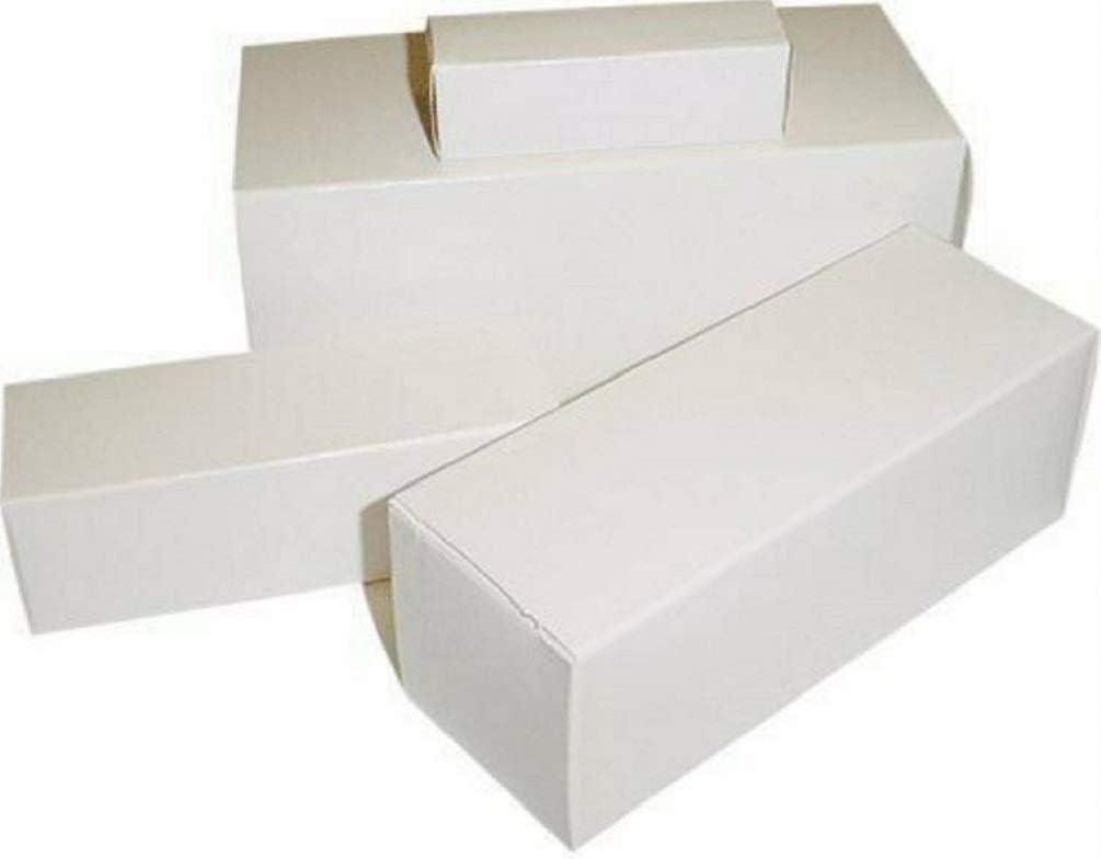 QTY 100 - Assorted Empty White Vacuum Tube Boxes - 12AX7, 6V6GT, 6L6, 5U4G (etc)
