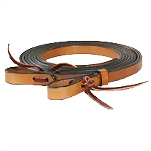 Circle Y Golden Harness Leather TACK Horse Split REINS - 3/4in. x 7ft