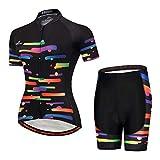MILOTO Women's Cycling Jersey Reflective Shirt