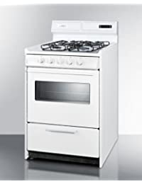 Summit WTM6307KSW Kitchen Cooking Range, White