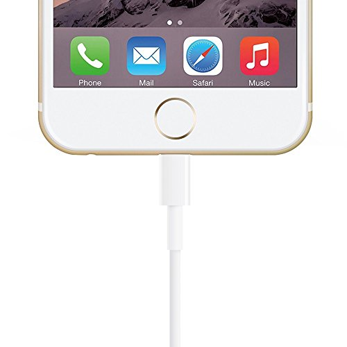 Zactech Lightning to USB Charge Cable for iPhone 6s/Plus/5/SC SE iPad4 Mini Data Sync & Charging Adapter