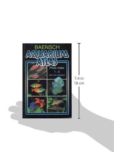 Baensch Aquarium Atlas Photo Index 1-5 (NEW REVISED THIRD EDITION 2007)