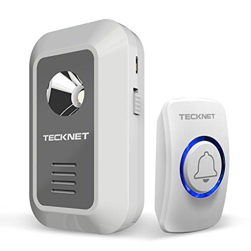 Wireless Doorbell Dual Power Cordless Detachable
