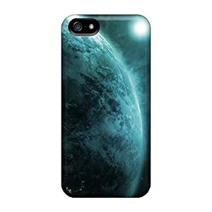 New Moon Earth Tpu Case Cover, Anti-scratch LovingPOP Phone Case For Iphone 5/5s