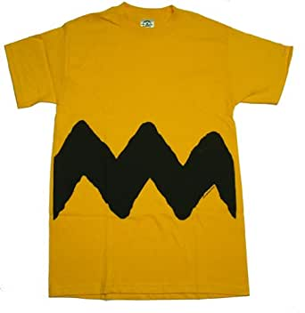 Peanuts - Charlie Brown Costume Tee T-Shirt Size S