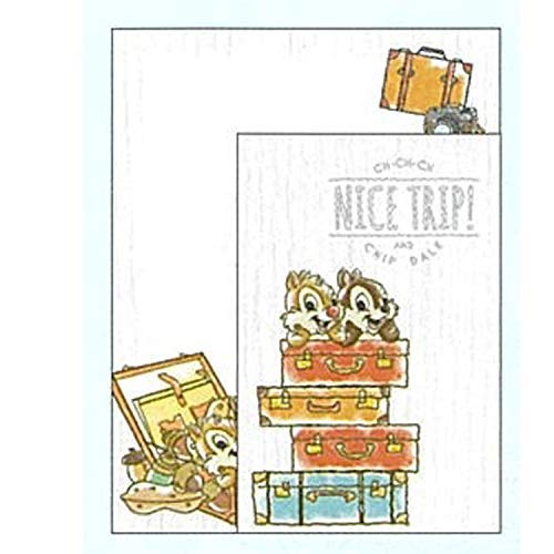 STAR STATIONERY (SUN-STAR STATIONERY) Disney Chip & Dale Letter Set Character Parade