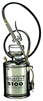 Smith Performance Sprayers S100 1-Gallon Stainless Steel Compression Sprayer for Pest Control