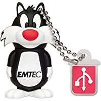 Emtec Looney Tunes 8GB Stick USB Flash Drive with 3D Design of Sylvester