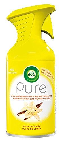 Air Wick Premium-Duftspray, Pure Sinnliche Vanille, 3er Pack (3 x 250 ml)