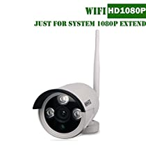 1080P OOSSXX Security System Extend Camera White