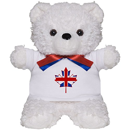 CafePress - UK Maple - Teddy Bear, Plush Stuffed Animal