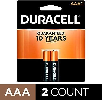 Amazon.com: Duracell - CopperTop AAA Alkaline Batteries ...