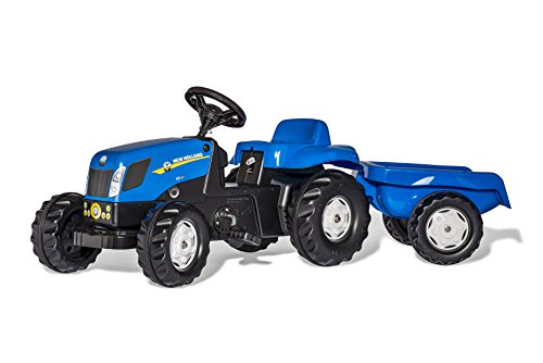 Kettler Pedal (Rolly Toys New Holland Kid-X Tractor, Blue)