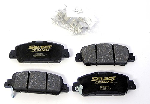 BrakeBest Select ceramic Disc brake pads C1654 Honda Accord