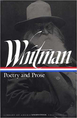 Whitman Poetry And Prose Library Of America College