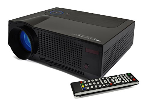 FAVI 4T Ultra-Bright LED LCD (HD 720p) Home Theater Projector - US Version (Includes Warranty) - Black (RIOHDLED4T-US5) by FAVI