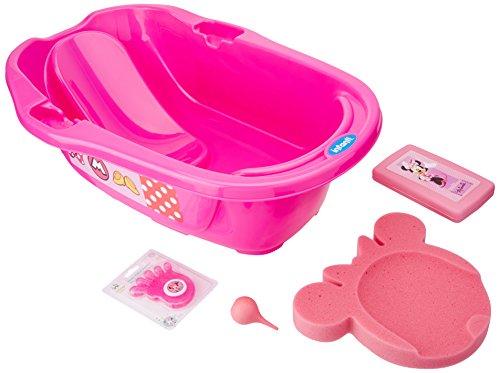 Infanti Bañera con accesorios Minnie, 5 piezas, rosa