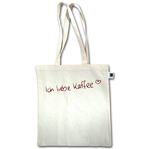Cucina - I Love Coffee - Unisize - Natural - Xt600 - Manico Lungo In Juta Bag