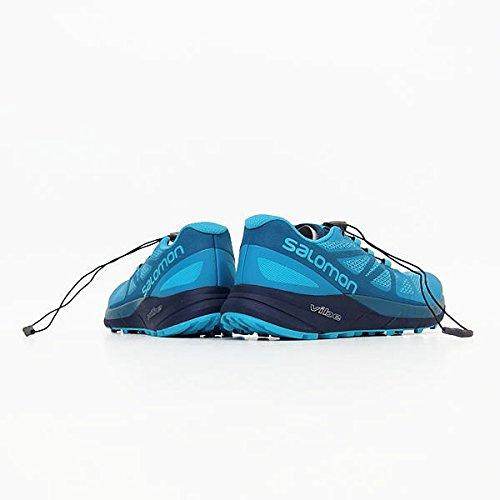 Salomon azur bleu amp; EU W vif Wanderhalbschuhe Ride Sense Trekking 3 Damen 45 Blau bleu a7q1RrPa