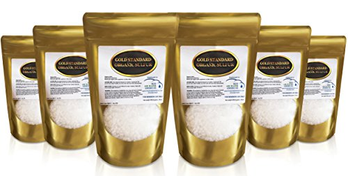Gold Standard Organic Sulfur Crystals 6lb - 99.9% Pure MSM Crystals - Largest Granular Flakes Available! 3rd Party Tested **Same Day Priority Shipping** by H2O Air Water Americas