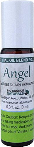 Angel Essential Oil Blend Roll On 0.3 fl oz / 9 ml - for Inspiration, Guidance ()