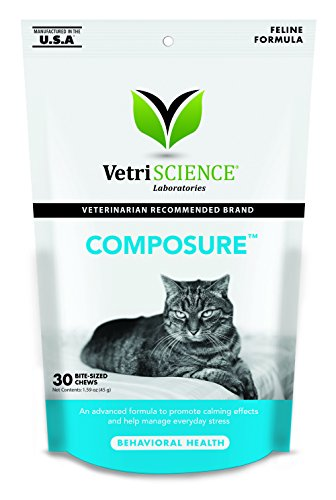 VetriScience Laboratories - Composure Feline, 30 Bite-Sized Chews