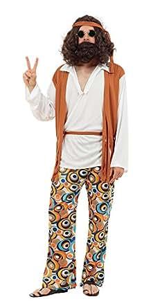 Hippie Man Fancy Dress Costume (Adult Size) (disfraz)
