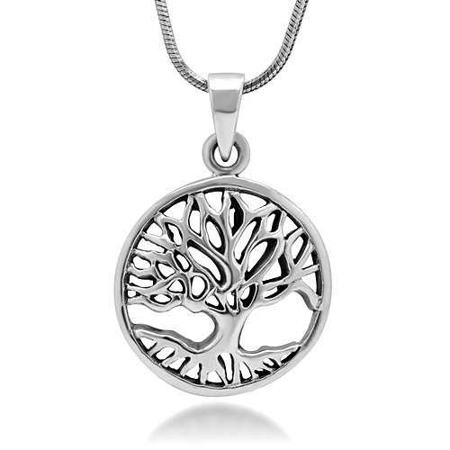 Sterling Silver Symbol Pendant Necklace product image