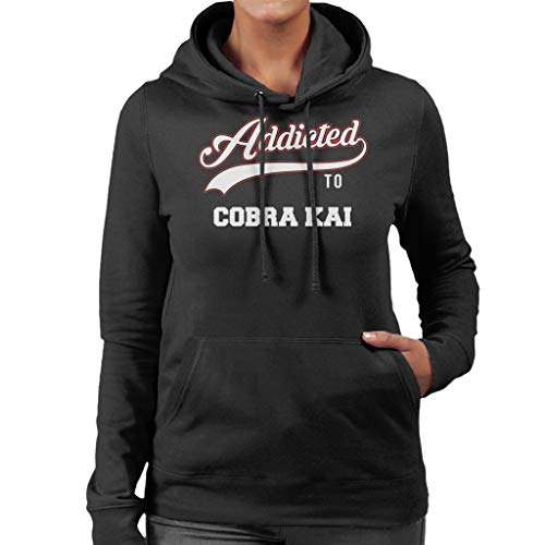 Cobra Sweatshirt Baseball Addicted City Kai 7 Cloud To Women's Hooded Text 7qSFI