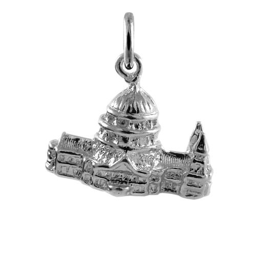 TheCharmWorks 925 Sterling Silver St Paul/'s Cathedral London Charm
