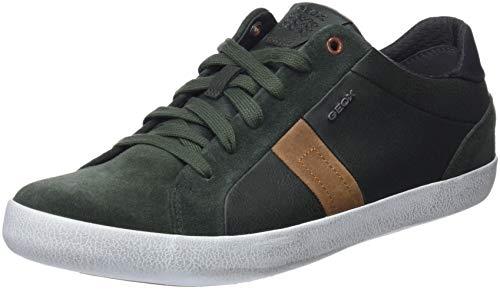 Geox Herren U Box G Sneaker Grün (Dk Green C3014)