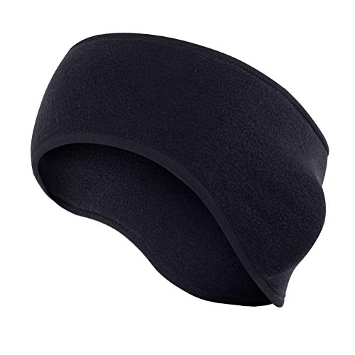 Fleece Ear Muffs Head Wrap Perfect for Winter Running Riding Skiing Other Outdoor Sports and Daily Wear EaseTech Ear Warmers Headband for Women and Men