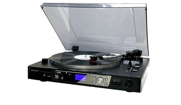 Roadstar TTL-8750 UCE - Tocadiscos semiautomático (función de ...