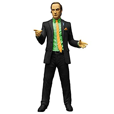 Breaking Bad 15,2 cm Saul Goodman PX pour homme Action Figure (Vert)