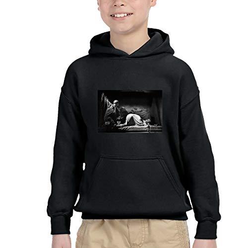 To-night Baby Joy Division Closer Hoodie Leisure Cotton Sweatshirt Black 3T