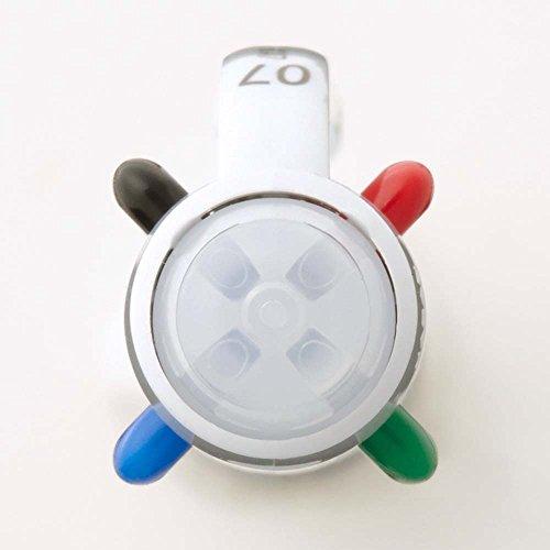 Pentel Ballpoint Pen Vicuna, Fine, Black, Red, Blue, Green, White (BXC47W) Photo #3