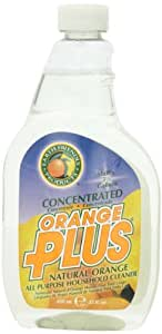 Earth Friendly Products Orange Plus Concentrated, 22 Ounce (Pack of 2)