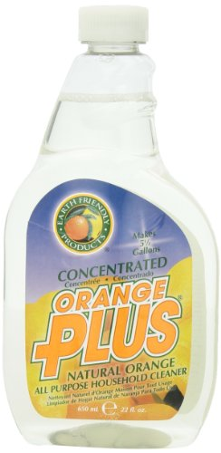 Earth Friendly Products Orange Plus Concentrated, 22 Ounce (Pack of 2) - Orange Floor Cleaner