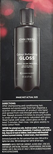 John Frieda Colour Refreshing Gloss, Warm Red, 6 Ounce by John Frieda PFC (Image #1)