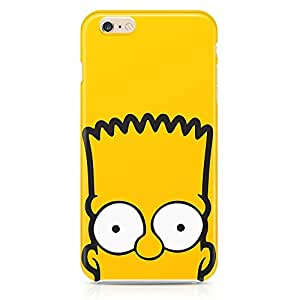 Loud Universe The Simpsons Face iphone 6 plus Case Bart Simpson Face iphone 6 plus Cover with 3d Wrap around Edges