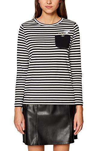 001 Mujer Camiseta Esprit Negro black By Edc Para Un8v0wxH6q