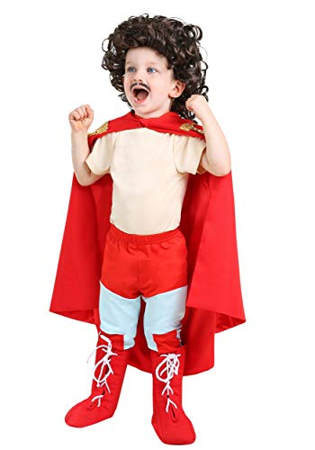 Toddler Nacho Libre Costume 2T Red