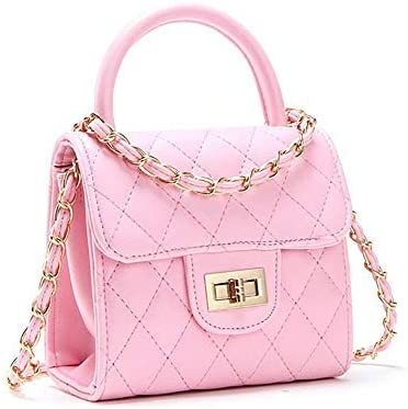 Pinky Family Cute Mouse Handbags Candy Color Cross Body Bags PU Leather Shoulder Bags Apricot