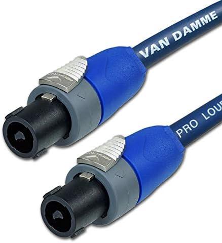 Designacable Van Damme XKE Gitarrenkabel 4 blau Neutrik-Stecker, NP2RX-AU auf NP2X