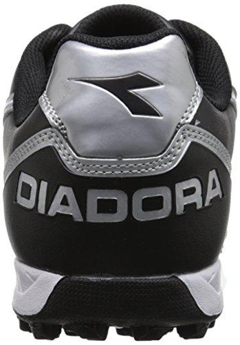 Diadora Shoes Mens Black Turf Capitano Capitano White Soccer Diadora Mens qSx41A