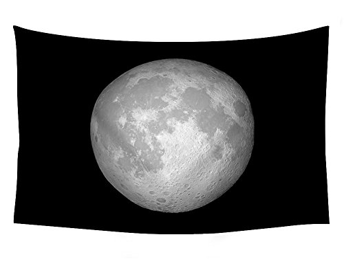 iPhone X s iPhone iOS moon retina WWDC OS - Wall Tapestry Art For Home Decor Wall Hanging Tapestry 60x40 Inches Black and White