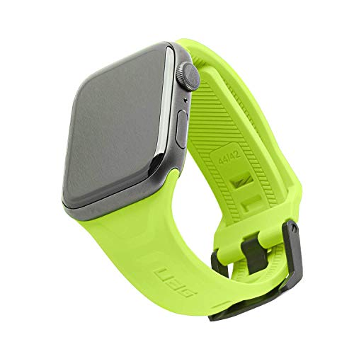 URBAN ARMOR GEAR UAG Compatible with Apple Watch 44mm 42mm Series 5/4/3/2/1 Silicone Band Scout [Billie] Slim Adjustable Waterproof Sporty Replacement Watch Strap