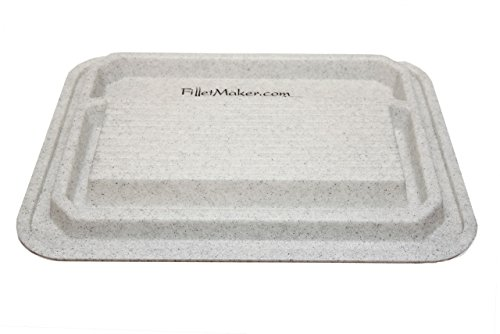 Master Filletmaker Double-Sided Utility Cutting Board (H-3.25'', W-24'', L-32.25'') (White) by FilletMaker (Image #1)