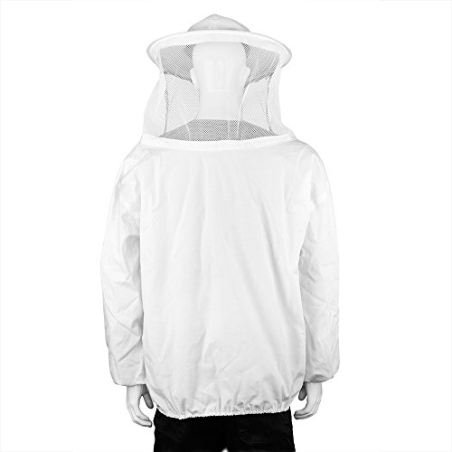 XL Beekeeping Bee Keeping Suit Jacket Pull Over Smock with Veil Bee Keeper